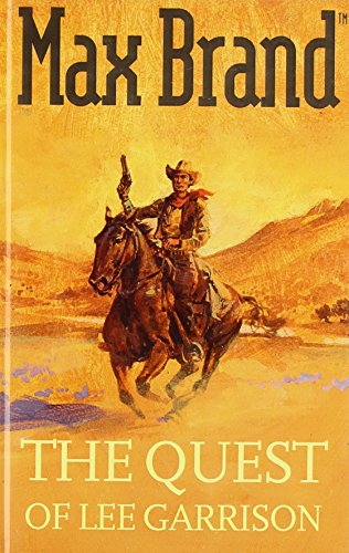 book cover of The Quest of Lee Garrison