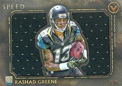 Rashad Greene player worn jersey patch football card (Jacksonville ...
