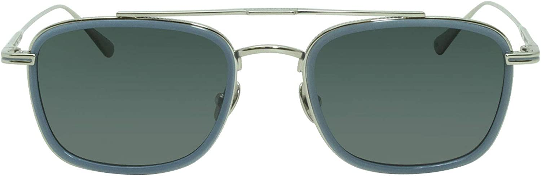 John Varvatos V529 New Storm Light Blue Polarized Sunglasses 52mm with case