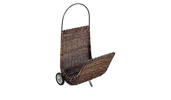 color gris Carro para troncos con ruedas Aubry Gaspard