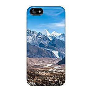 5/5s Scratch-proof Protection Case Cover For Iphone/ Hot Ama Dablam Himalaya Mountains Phone Case by ruishername