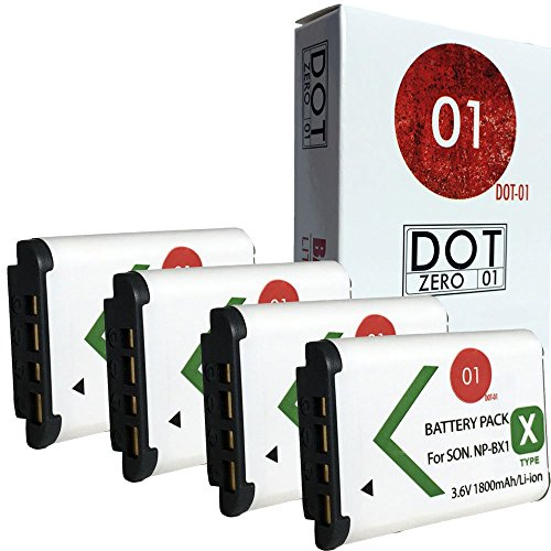 DOT 01 DSC HX300 Batteries Camera Battery
