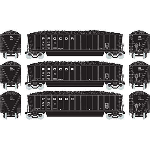 ub Gondola w Coal Load Procor #1 (3) ()