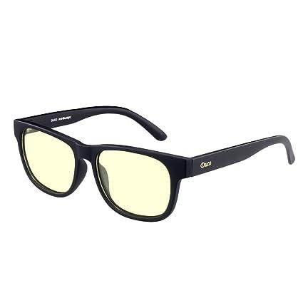 DUCO luz azul bloqueo gafas Gamer gafas y ordenador gafas anti-deslumbramiento protección anti-