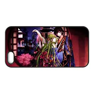 Generic hard plastic CODE GEASS Lelouch of the Rebellion Anime Cell Phone Case for iPhone SE 5 5S Black B1121