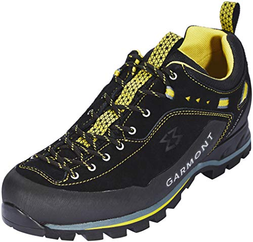 Garmont Men's Dragontail MNT Shoes Black/Dark Yellow 9