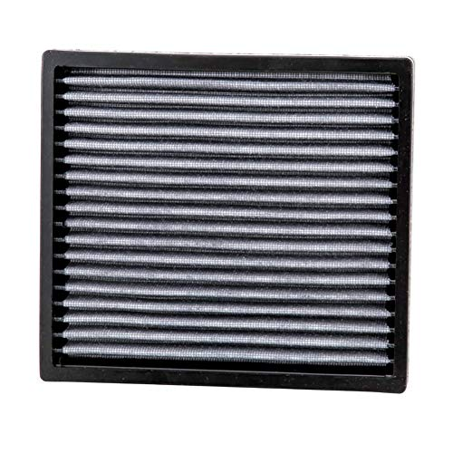 (K&N VF2001 Washable & Reusable Cabin Air Filter Cleans and Freshens Incoming Air for your Acura, Honda)
