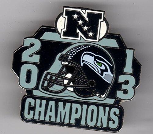 2013 SeahawksピンSuper Bowl 48ピンXLVIII Seahawks Champions Football   B074PYZR3H