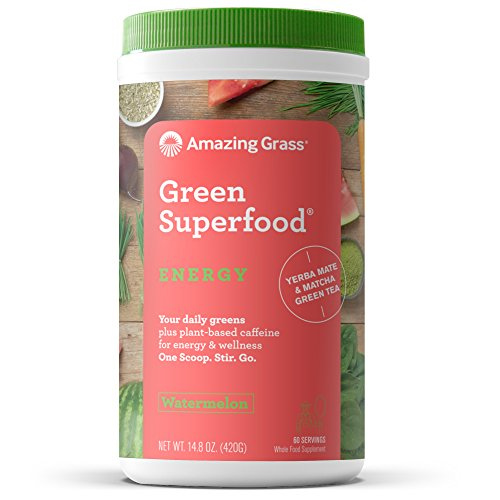 Amazing Grass Superfood Organic Caffeine