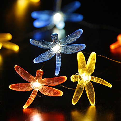Dragonfly Led String Lights Multi