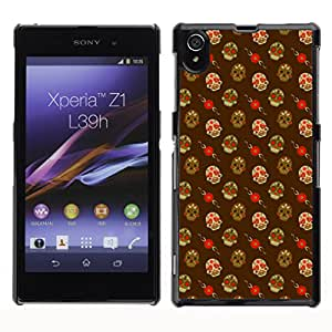 ZECASE Funda Carcasa Tapa Case Cover Para Sony Xperia Z1 L39H No.0001779