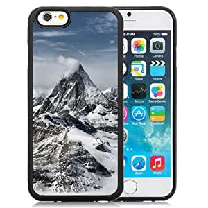 Beautiful Custom Designed Cover Case For iPhone 6 4.7 Inch TPU With Great Snow Mountains Phone Case