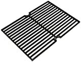 Music City Metals 63421 Gloss Cast Iron Cooking Grid Replacement for Gas Grill Models BBQ Tek SSS3416TB and Presidents Choice SSS3416TCS