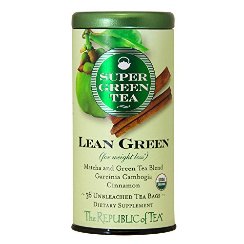 The Republic Of Tea Pomegranate Green Tea, Superfruit Premium Green Tea Blend