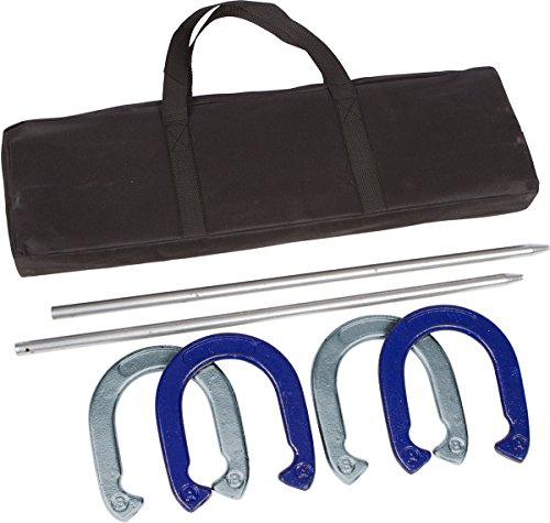 (Tailgate 360 Powder Coated and Waterproof Steel Professional Horseshoe Set)
