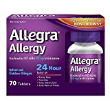 Allegra 24 Hour Allergy 180mg Tablets - 3PC