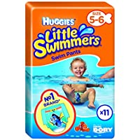 Huggies Little Swimmers - Nappies (11 unidades, tamaño