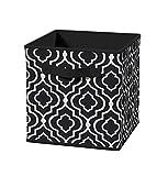 ClosetMaid 3252 Cubeicals Fabric Drawer, Iron Gate Black