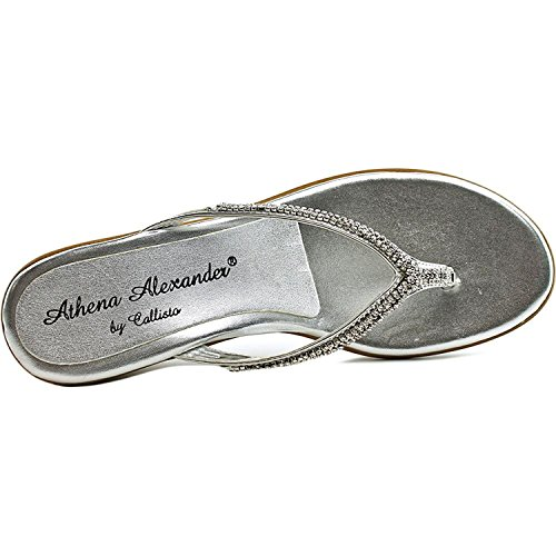 Coffye Sandals Womens Silver Toe Split Alexander Platform Casual Athena qTSEHH