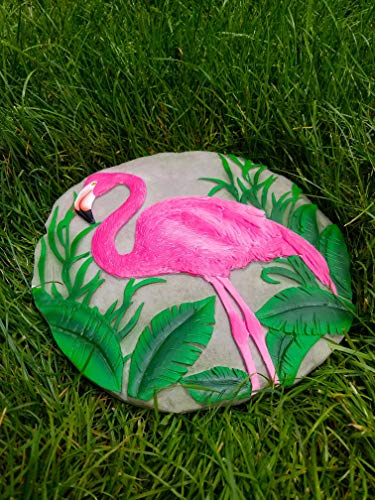 (Spoontiques 13232 Flamingo Stepping Stone, Pink &)
