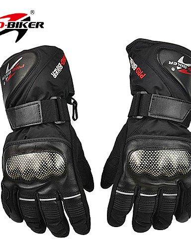 PRO-BIKER HX-05 Motorcycle Thickened Warm Waterproof Anti-Slip Racing Gloves , red-xl , red-xl