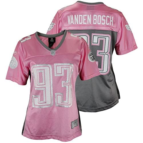 8d2597ea8995 Womens Reebok NFL Tennessee Titans Kyle Vanden Bosch  93 Pink Dazzle Jersey  high-quality