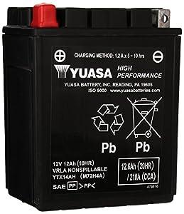 Yuasa YUAM72H4A YTX14AH Battery
