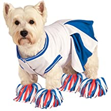 Rubie's Costume Co Deluxe Cheerleader Pet Costume, Small