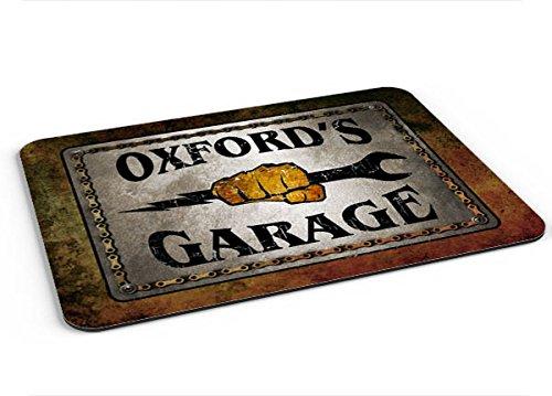 Oxford Garage Mousepad/Desk Valet/Coffee Station Mat - Oxford Valet