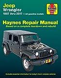 jeep wrangler service manual - Haynes Repair Manual 50030 for Jeep Wrangler 1987-2017