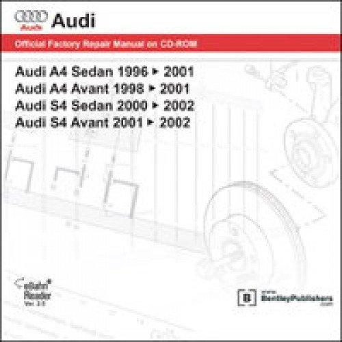 Download AB55 Audi A4 S4 1996-2002 Repair Manual on DVD-ROM pdf epub