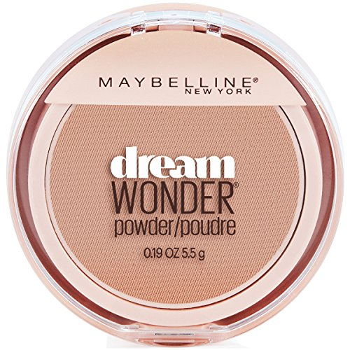 Maybelline New York Dream Wonder Powder Makeup, Creamy Natural, 0.19 oz.