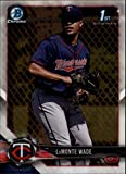 #7: 2018 Bowman Chrome Prospects #BCP159 LaMonte Wade Minnesota Twins RC Rookie MLB Baseball Trading Card