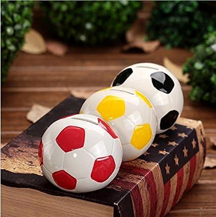 Yuloen - Hucha con forma de balón de fútbol, ideal para regalar a ...