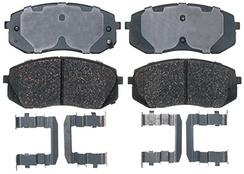 ACDelco 17D1295CH Professional Ceramic Front Disc Brake Pad -
