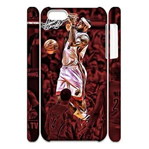 Newest Diy Lebron James Apple Iphone 5C 3D Cover Case UN766268
