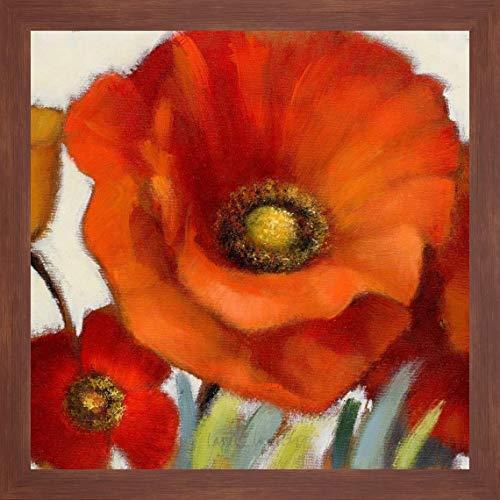 Poppy Splendor Square 1(Closeup) by Lanie Loreth - 24