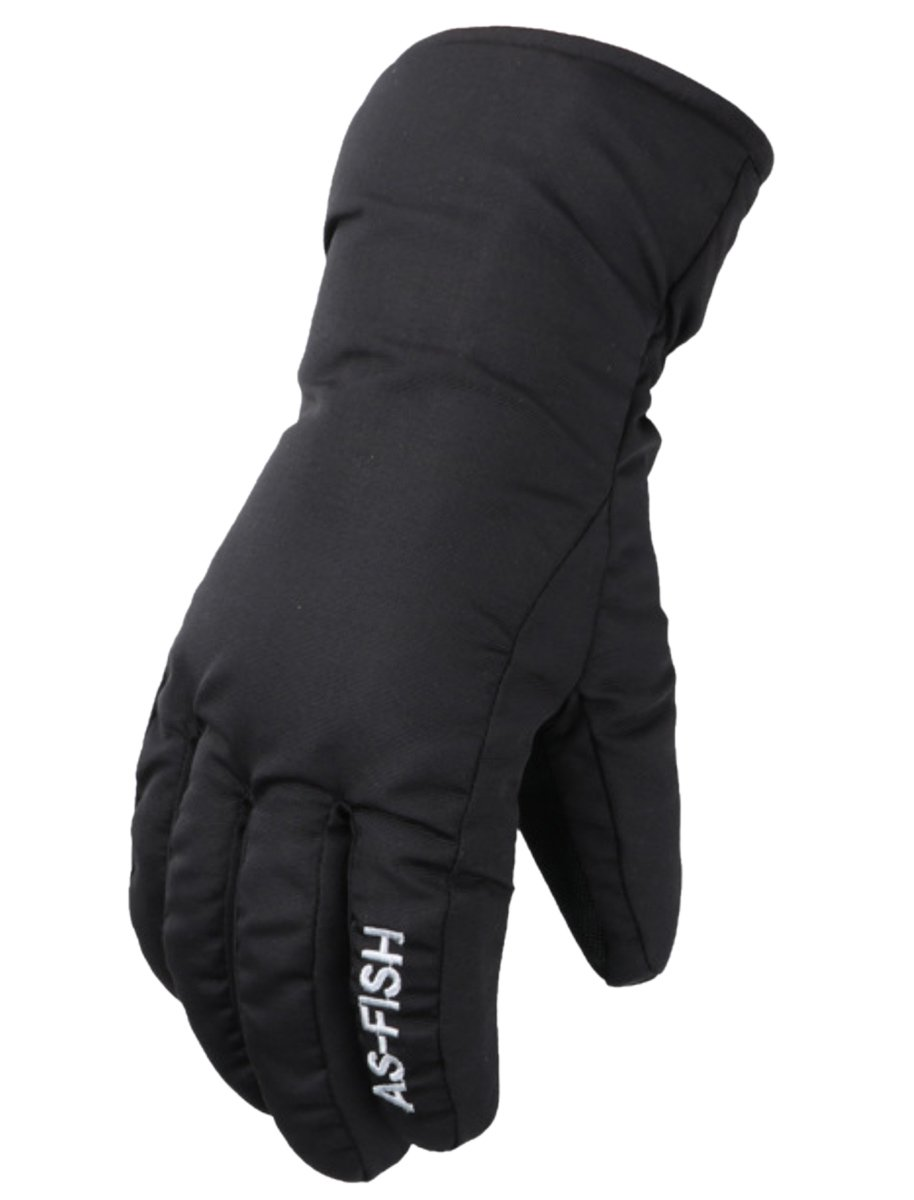 Winter Snow Blower Work Gloves Heated Insulated Shoveling Snow Gloves Black M