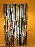 Blues Hippie Curtains (Gypsy, Hippie, Hippy, Boho, Beach, Shabby, Shower Curtain, Photo BackDrop)