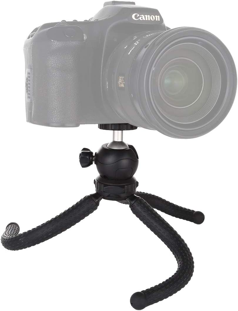 GoPro Color : Color1 Cellphone Mini Octopus Flexible Tripod Holder with Ball Head for SLR Cameras Size: 25cmx4.5cm Premium Quality
