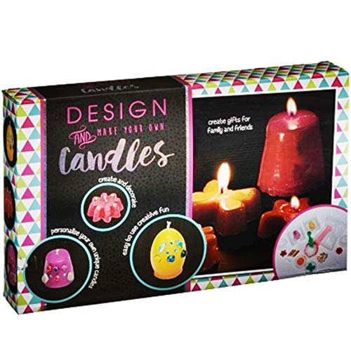 Scotrade New Decorating Candle Making Kit Mould Candle Making DIY Art & Craft creative fun for children 6 years.