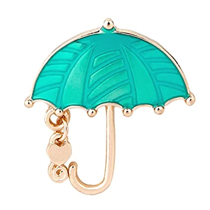 Image Unavailable. Image not available for. Color  ForShop Bling Rhinestone  Umbrella Personalized Brooch Decorative Garment Accessories Wedding Bridal  ... 27ec68590a4b
