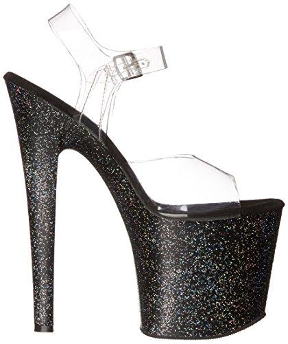 Transparent Transparent Taboo Sandales C Pleaser B Femme 708mg Plateforme FWXgAwwPq
