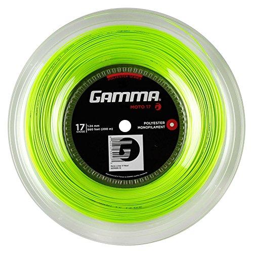 Gamma Tennissaite Moto 16 Set, lime, GZMO-10