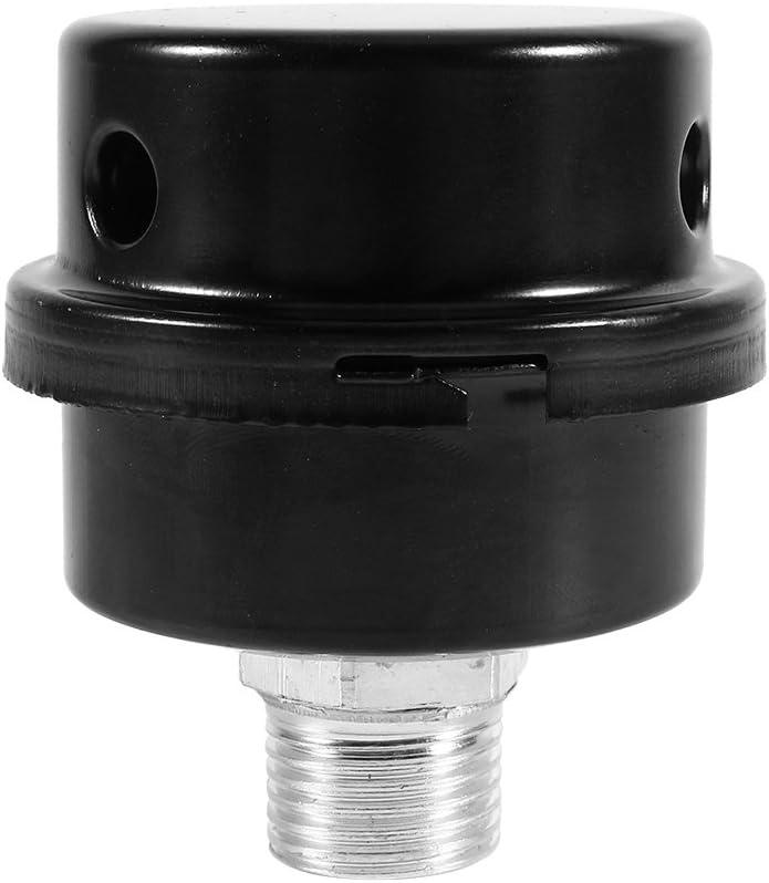 Canyita Filtro de silenciador de Aire de 1//2 silenciador de Aire para Conector de compresor sin Aceite Hilo de Repuesto de Bomba peque/ña Accesorios para Reductor de Ruido de Metal