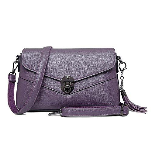 coreana seora versin bolso una moda cuadrada de Mam Aoligei mediana bolsa mujer de pequea mano D bandolera messenger bolso de edad 6avvZ8wq