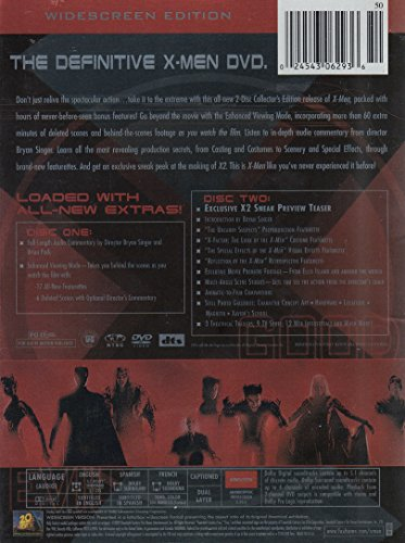 Amazon X Men 15 Patrick Stewart Hugh Jackman Ian McKellen Famke Janssen James Marsden Halle Berry Anna Paquin Tyler Mane Ray Park