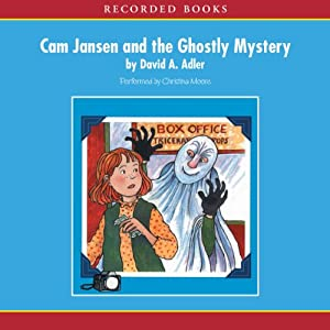 Cam Jansen: The Ghostly Mystery #16 Audiobook