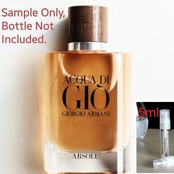 Image Unavailable. Image not available for. Color  Acqua Di Gio Absolu by Giorgio  Armani 4f99d08a0e3a0