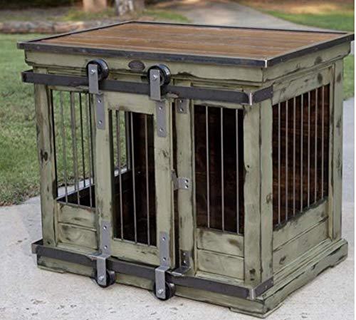 Amazon com: Farmhouse dog kennel: Handmade